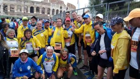 Amatori Podistica Terni alla Maratona di Roma - 3 Aprile 2017