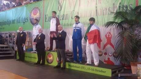 Campionati Europei di Karate-Grandi successi per il team Calzola