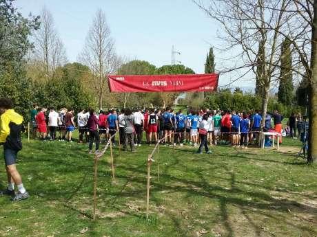Campionati Studenteschi: finali regionali di corsa campestre - Parco dei Pini Narni Scalo