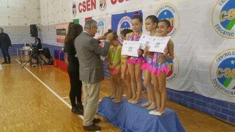 Campionato REGIONALE CSEN UMBRIA GINNASTICA RITMICA DEL 28.2.2016