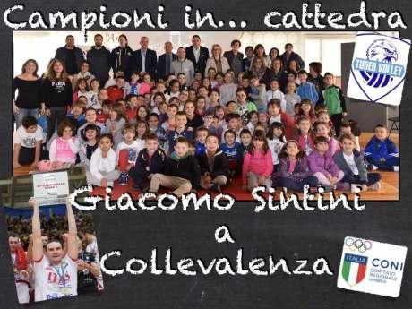 Campioni in Cattedra-Collevalenza-Campione Giacomo Sintini