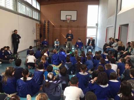 Campioni in cattedra: Alessio Foconi nella scuola primaria di Massa Martana