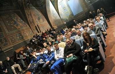 Cerimonia di Premiazione 2013 Perugia, Sala dei Notar