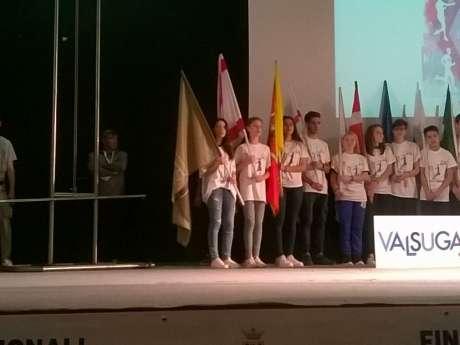 Finali Nazionali Campionati Studenteschi. La squadra umbra a Levico Terme