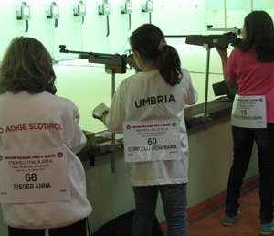 Finali Trofeo Coni - Atleti Umbri Tiro a Segno (UITS)