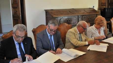 Firma Convenzione Unipg-Coni-Scuola-Cip