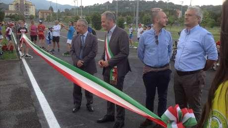 Inaugurazione Ciclo-Pattinodromo