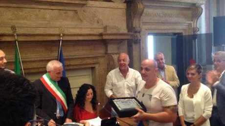 Intitolazione Campionati Italiani di Pattinaggio a David Raggi