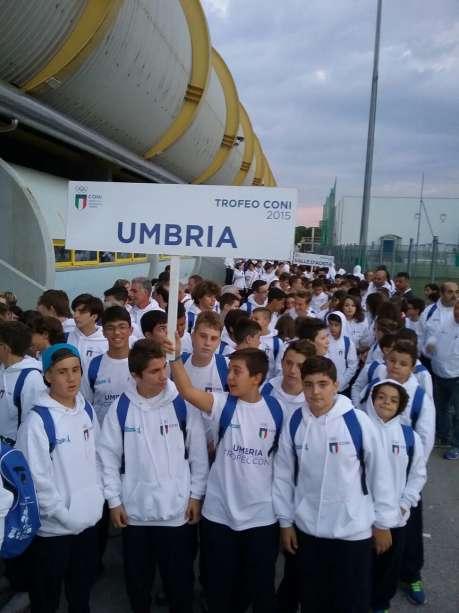 L'Umbria alle finali nazionali del Trofeo Coni a Lignano Sabbiadoro