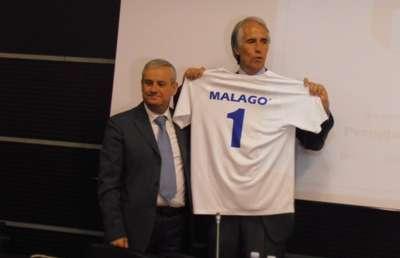 Medaglie 2014 visita Presidente Malagò