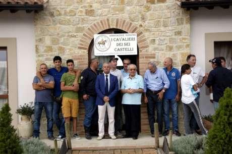 PASSEGGIATA EQUESTRE DI COLLEVALENZA-SETTEMBRE 2016