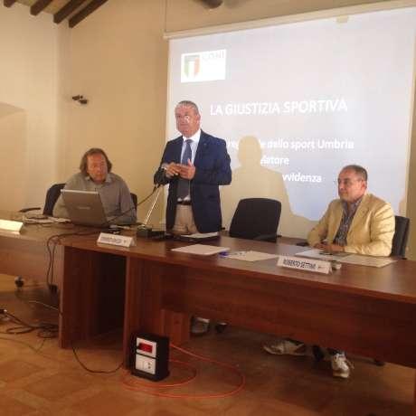 Scuola Regionale dello Sport - 19 settembre 2015 - Convegno su Giustizia Sportiva