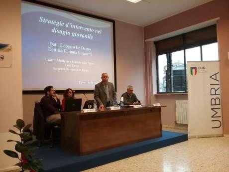 """Scuola Regionale dello Sport: Terni, 21 novembre - """"Strategie d'intervento nel disagio giovanile"""""""