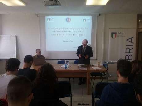 """SRdS - Convegno :""""Le variabili psicologiche che possono incidere sulla motivazione sportiva giovanile. Quali differenze fra maschi e femmine"""" Prof. Sandro Elisei"""
