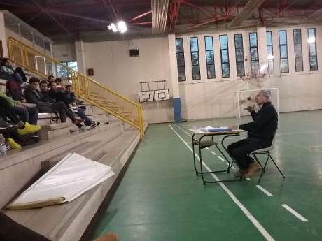 """SRdS: 19 novembre - Ist. Fermi (Pg)  """"La preparazione atletica nell'avviamento agli sport che utilizzano la palla""""  docente Mds Fausto Polidori"""